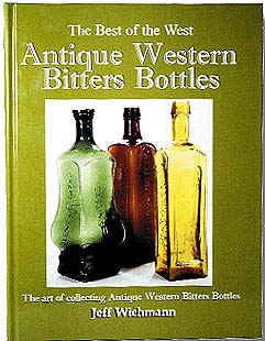 Book on Antique Western Bitters Bottles