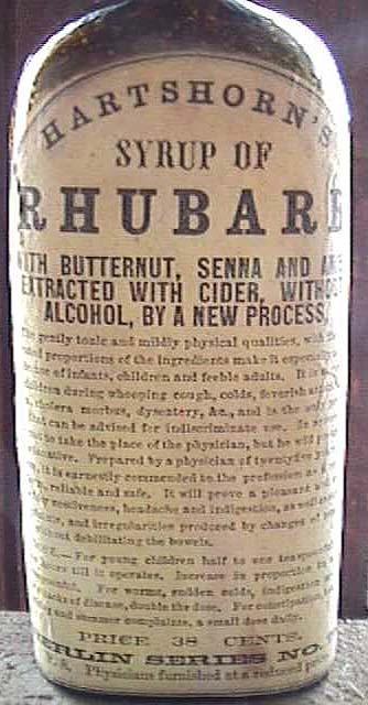 Hartshorn's Syrup of Rhubarb Tonic