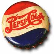 Pepsi:Cola Bottle Cap