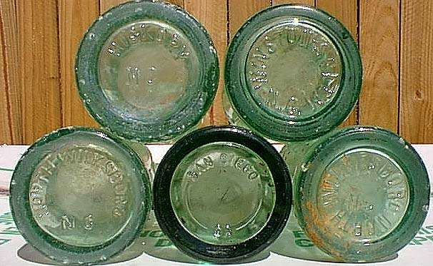 Antique E Bottles