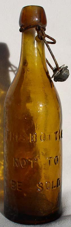 Reggie's Antique Beer Bottles