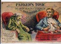 Parker's Tonic/Hair Victorian Trade Cards211 x 152 jpeg 7kB