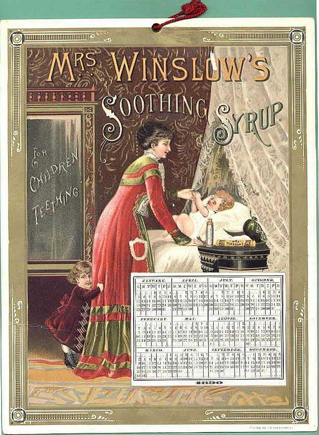 Mrs Winslow S Soothing Syrup Victorian Trade Cards