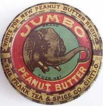 jumbo peanut butter jar and